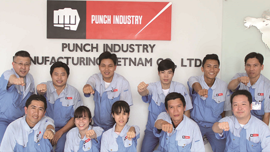 Punch Industry MANUFACTURING VIETNAM CO., LTD.